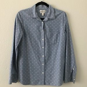 J. Crew | Boyfriend Fit Button Down